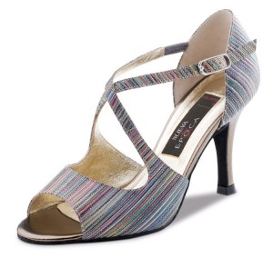Nueva Epoca - Ladies Dance Shoes Chiara - Multi/Antique