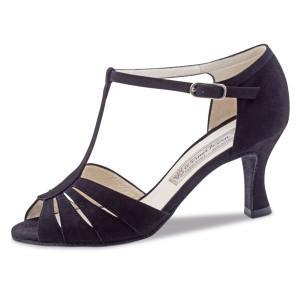 Werner Kern - Ladies Dance Shoes Dalia - Black Suede