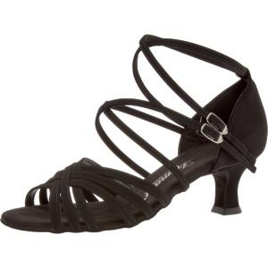 Diamant - Mulheres Sapatos de Dança 108-064-040 - Nubuck Preto