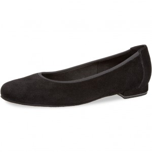 Diamant - Ladies Ballerinas 175-005-001 - Black Suede
