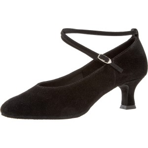 Diamant - Ladies Dance Shoes 075-068-001 - Black Suede