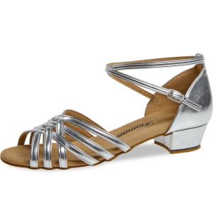 Diamant - Ladies Dance Shoes 008-035-013 - Silver - 2,8 cm Bloc [UK 5,5]