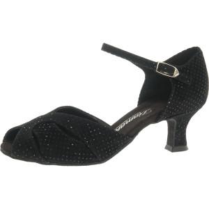 Diamant - Mulheres Sapatos de Dança 011-064-156 - Veludo Preto