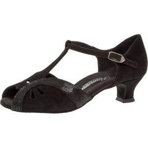 Diamant - Mulheres Sapatos de Dança 019-011-208 - Camurça Preto