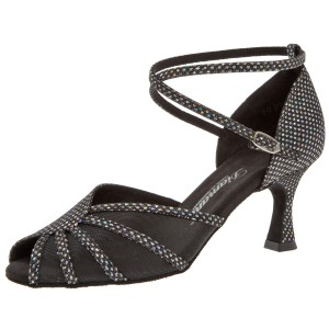 Diamant - Ladies Dance Shoes 020-087-183 - Textileeeeeeeeee / Mesh