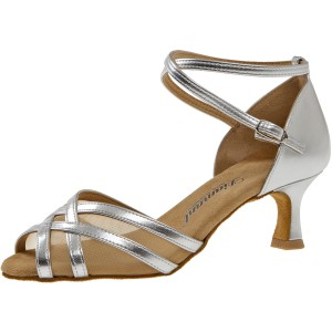 Diamant - Ladies Dance Shoes 035-077-013 - Silver / Mesh