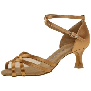 Diamant - Ladies Dance Shoes 035-077-087 - Bronce Satin