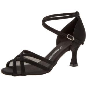 Diamant - Mulheres Sapatos de Dança 035-087-040 - Nubuck Preto