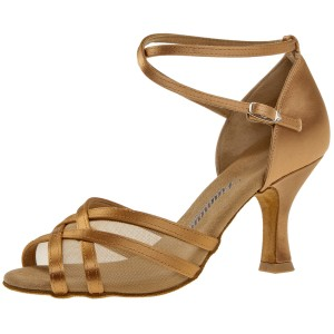 Diamant - Ladies Dance Shoes 035-108-087 - Bronce Satin