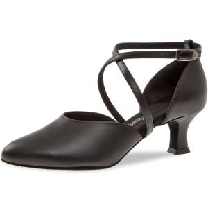 Diamant - Mulheres Sapatos de Dança 048-068-034 - Pele Preto