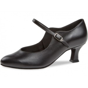 Diamant - Ladies Dance Shoes 050-068-034 - Black Leather