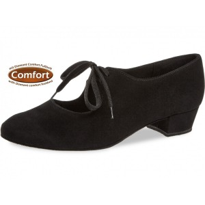 Diamant - Ladies Dance Shoes 057-029-001 - Black Suede