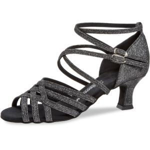 Diamant - Mujeres Zapatos de Baile 108-036-519 - Brocado Negro