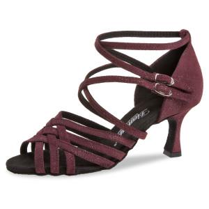 Diamant Ladies Dance Shoes 108-087-567 - Suede Bordeaux