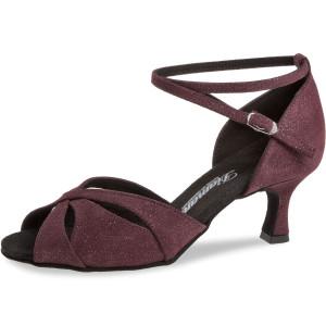 Diamant Ladies Dance Shoes 141-077-567 - Suede Bordeaux