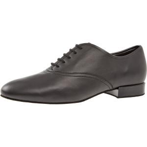 Diamant - Hombres Zapatos de Baile 078-075-028 - Cuero Negro
