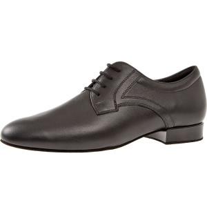 Diamant - Hombres Zapatos de Baile 085-075-028 - Cuero Negro