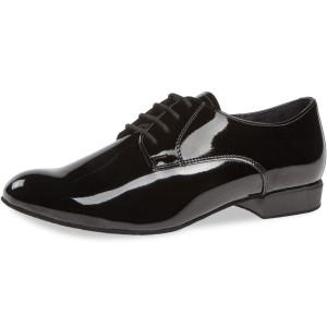 Diamant - Hombres Zapatos de Baile 179-025-038 - Charol Negro