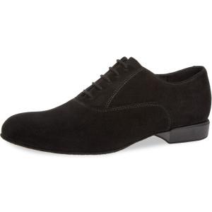 Diamant - Hombres Zapatos de Baile 180-025-001 - Ante [Ancho]