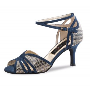 Nueva Epoca - Ladies Dance Shoes Donna - Blue / Multi