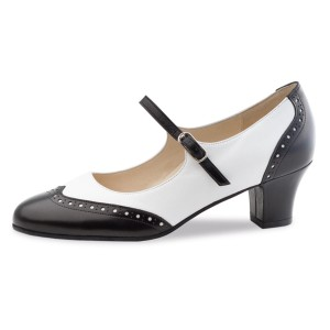 Werner Kern - Ladies Dance Shoes Emma - Black/White