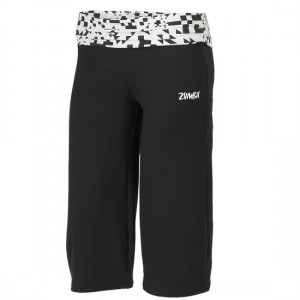 Zumba® - Escape Gaucho Pant - Black [Extra Small]