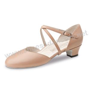 Werner Kern - Mujeres Zapatos de Baile Felice - Cuero Beige [UK 4,5]