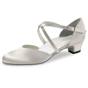 Werner Kern - Bridal Shoes Felice 3,4 LS - White Satin