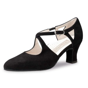 Werner Kern - Ladies Dance Shoes Gala - Black Suede
