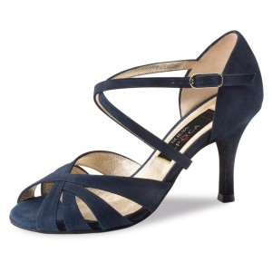 Werner Kern - Ladies Dance Shoes Gracia - Suede Blue