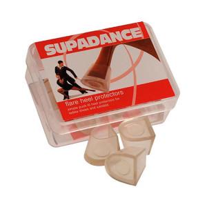 Supadance - Absatzschoner Flare/Cuban [Transparent | 1 Paar]