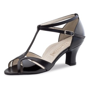 Werner Kern - Ladies Dance Shoes Hope - Patent/Leather Black
