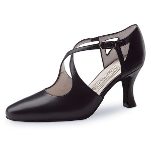 Werner Kern - Ladies Dance Shoes Ines - Black Leather