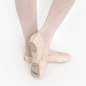 Intermezzo - Ballet Shoes 7038 Basic - Fitting: Normal - Sole: Split - Leather