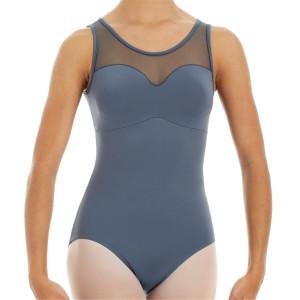 Intermezzo - Damen Ballett Trikot/Body mit Mesh Trägern breit 31346 Bodymeredsos