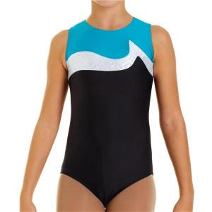 Intermezzo - Mädchen Gymnastik Body/Trikot mit Trägern breit 31243 Bodybiligau
