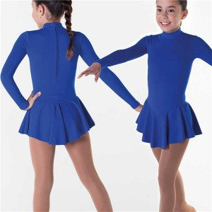 Intermezzo - Girls Skating Trikot/Body with skirt and sleeves long 31414 Bodyvuelclas