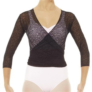 Intermezzo - Ladies Ballet Wrap Cardigan sleeves ellbow long 6502 Jerpunti