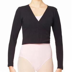 Intermezzo - Mädchen Ballett Wickeljacke langarm 6544 Jecru Ml