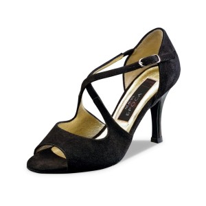 Nueva Epoca - Ladies Dance Shoes Joy - Black Suede
