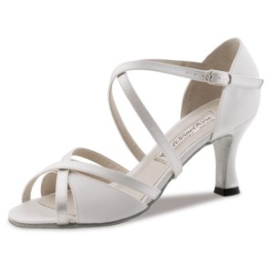 Werner Kern - Ladies Dance / Bridal Shoes July - White Satin