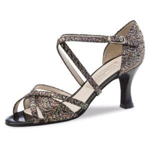 Werner Kern - Ladies Dance Shoes July - Brocade Multi