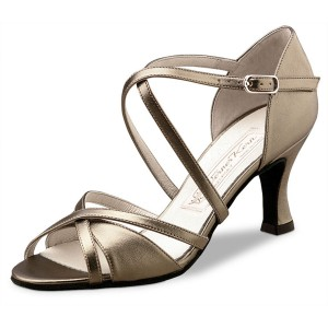 Werner Kern - Ladies Dance Shoes July - Chevro Antique