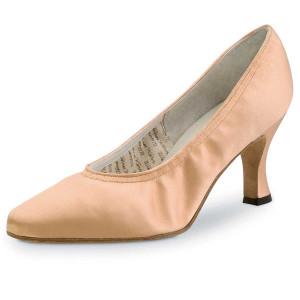 Werner Kern - Ladies Dance Shoes Laura - Flesh Satin