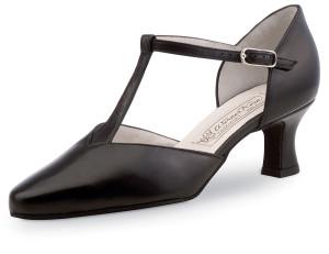 Werner Kern - Femmes Chaussures de Danse Lena - Cuir Noir