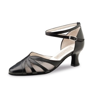 Werner Kern - Ladies Dance Shoes Linda - Black Leather