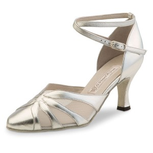 Werner Kern - Ladies Dance Shoes Linda - Chevro Silver