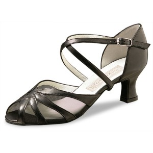Werner Kern - Ladies Dance Shoes Liz - Black Leather