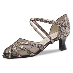 Werner Kern - Ladies Dance Shoes Liz - Brocade Multi