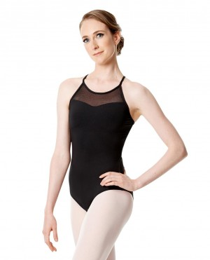 LULLI Dancewear Donne Balletto Calzamaglia/Body/Leotard MAGDALENA senza maniche